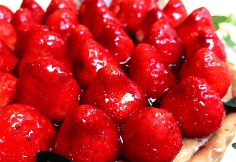マクロビスウィーツ・ストロベリーケーキ
