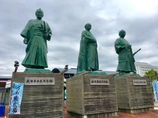 坂本龍馬像の写真