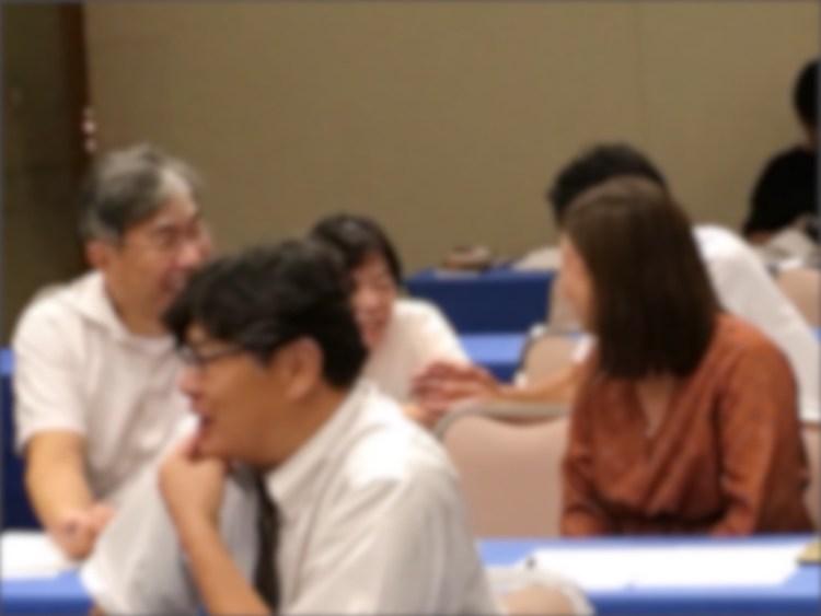 働き方改革は意識改革講演会の様子