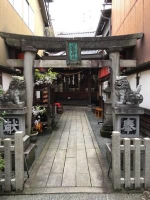 山桜神社の鳥居