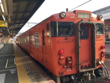 津山線の列車