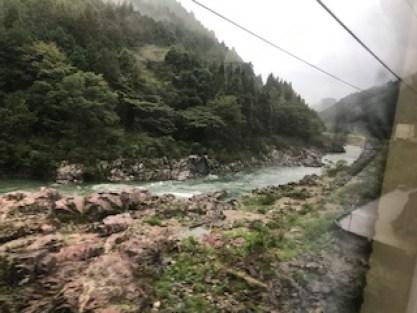 飛騨川の景色