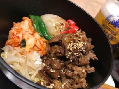 北海道和牛カルビ丼の写真