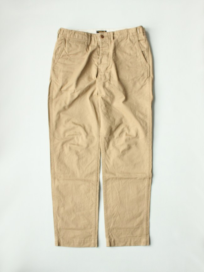 A Vontade|CLASSIC CHINO TROUSERS REGULAR FIT #BEIGE