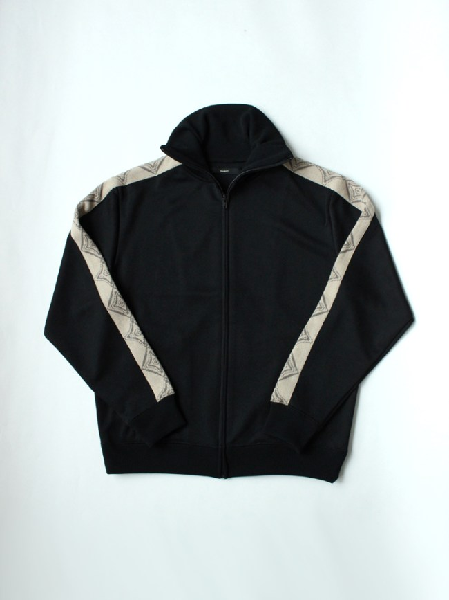 Varde77|THE SOURCE TRACK JACKET #BLACK
