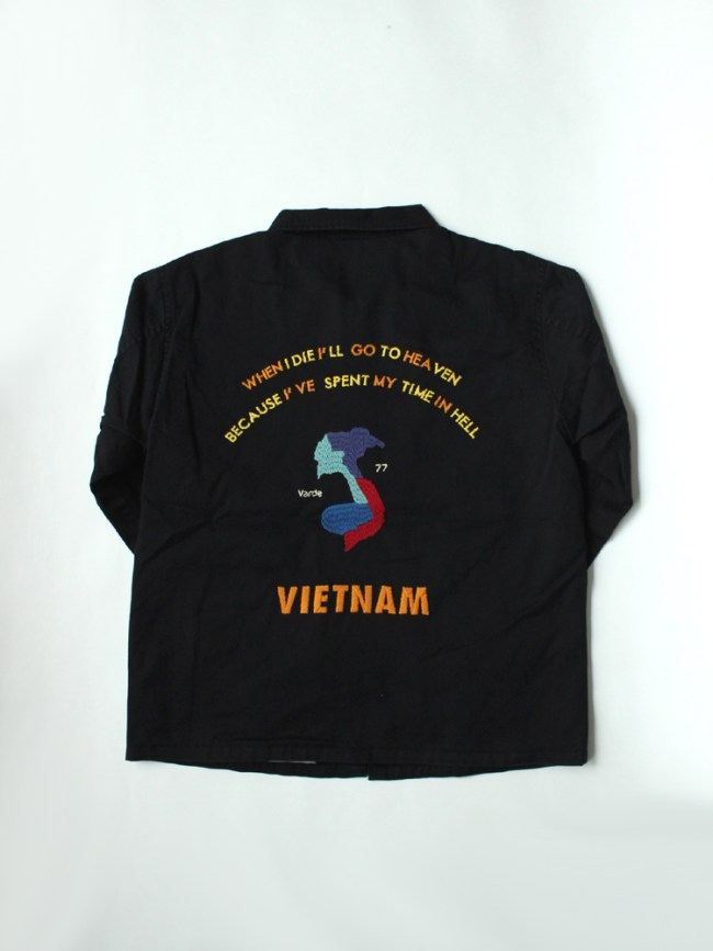 Varde77|VIETNAM JACKET 2017 #BLACK
