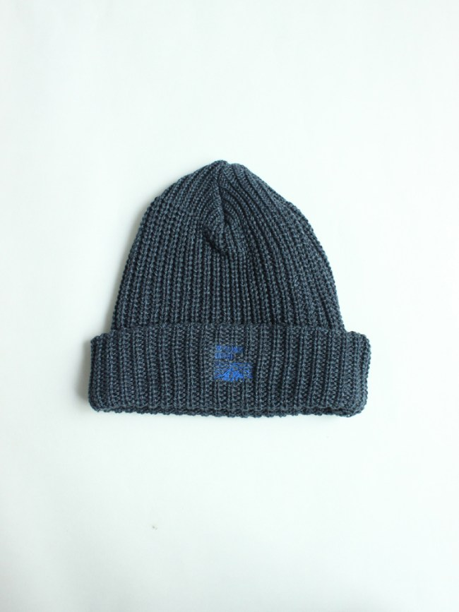 Mt RAINIER DESIGN|KNIT HAT #NAVY