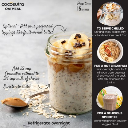 Cocosutra Oatmeal Instructions