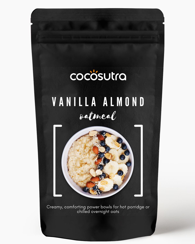 Cocosutra Vanilla Almond Oatmeal - Gluten free Rolled Oats
