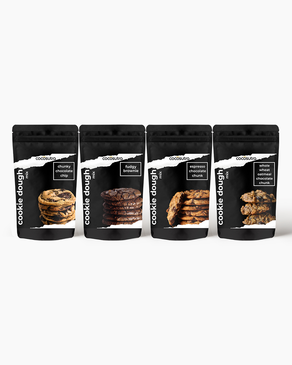 Cocosutra Cookie Dough Mix - Cookie Monster Bundle- Front