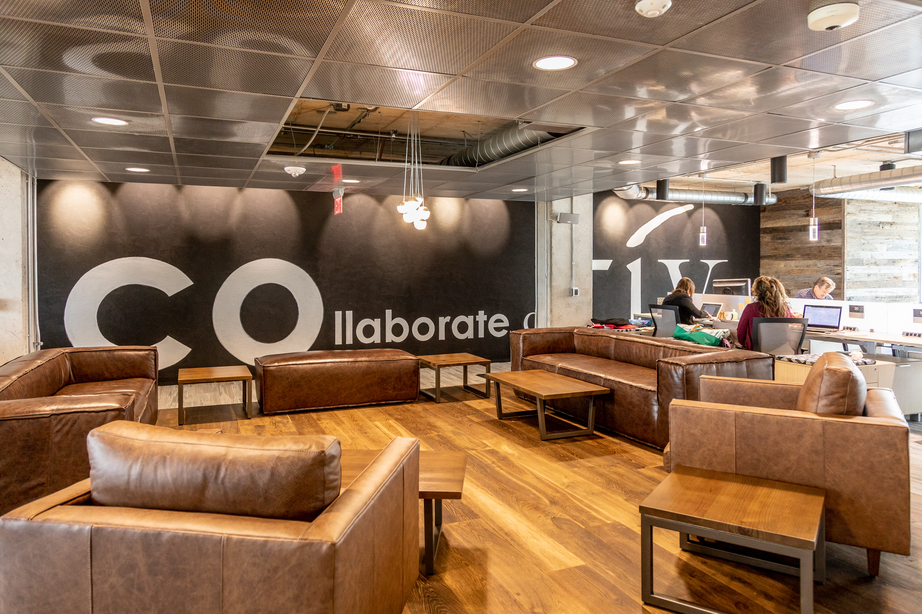 coworking space couches