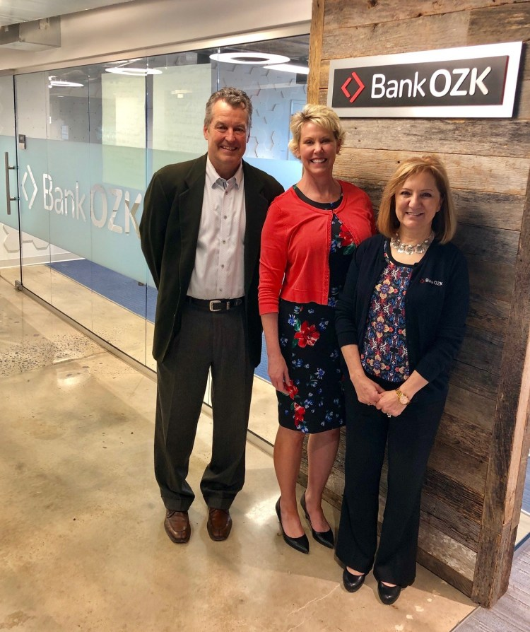 Bank OZK Sponsors the new CoCoTiv Coworking Boardroom