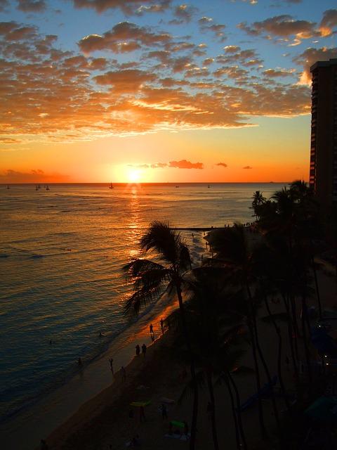 ハワイといったらワイキキビーチ