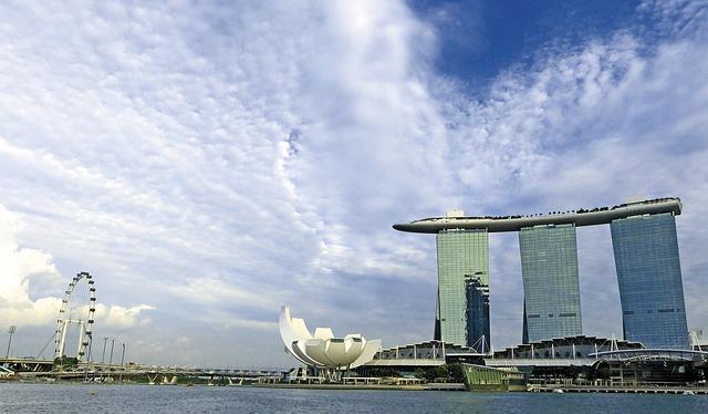 カップルで行くシンガポール旅行、マリーナベイサンズホテル