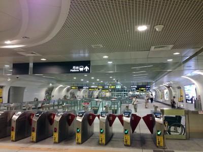 羽田発深夜便利用、シンガポールへの弾丸旅行、移動はMRT
