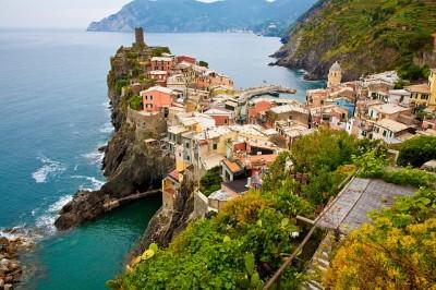 南イタリアは青い海もきれい