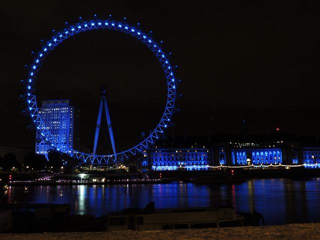 ロンドンアイ、イギリス