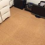 床にコルクマットを敷いたら想像以上に快適になった