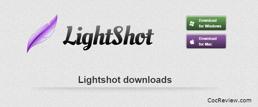 Cách chụp màn hình laptop HP, Dell, Asus, Lenovo, Acer, Toshiba bằng phần mềm Lightshop