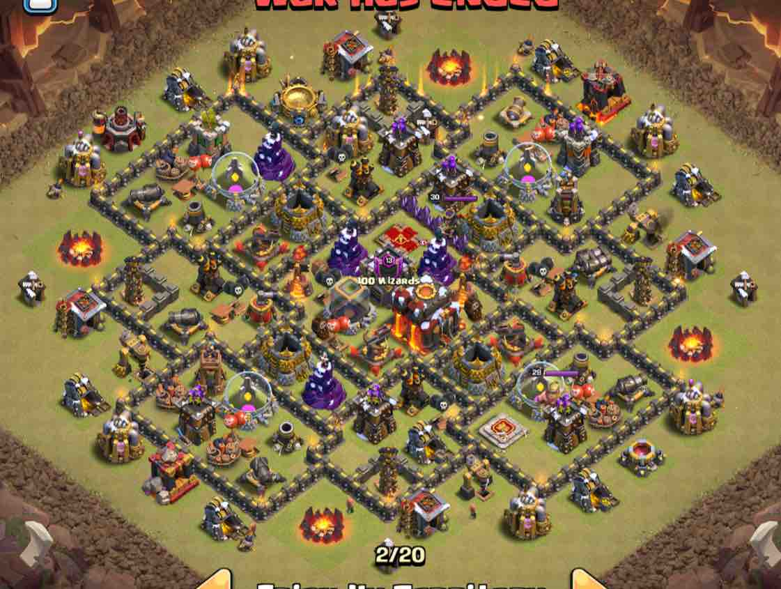 The 15 Best TH10 War Bases With Real Results - CoC Stars