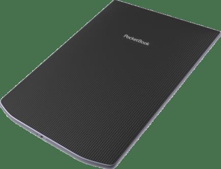 Pocketbook Inkpad X Le dos du lecteur est caoutchouté