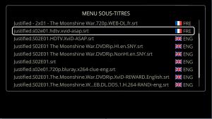 Sous-titres DUNE HD 4K