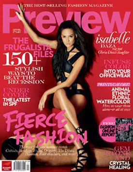 sabelle diaz daza preview cover magazine
