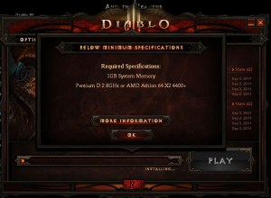 diablo3 system requirements