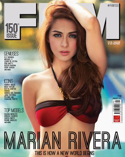 Marian Rivera FHM Philippines Cover