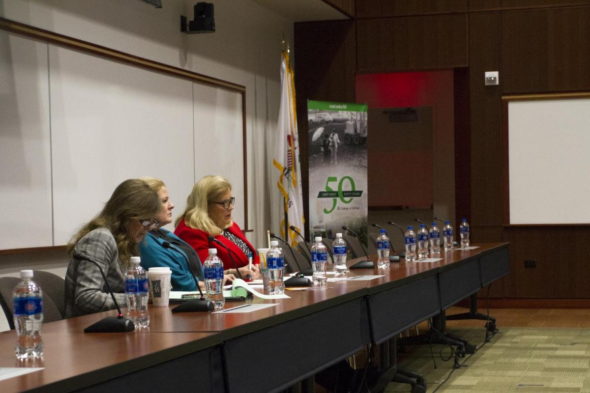 COD hosts Illinois Human Trafficking Task Force hearing