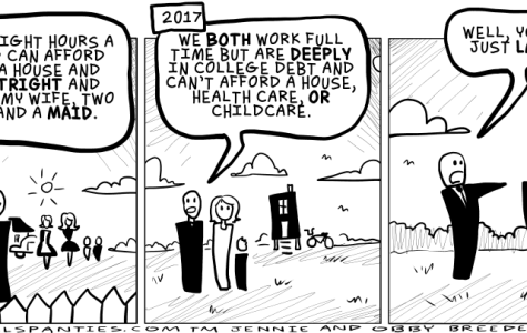 Comic: The new work ethic