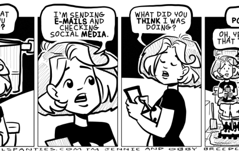 Comic: A social media manager's workplace