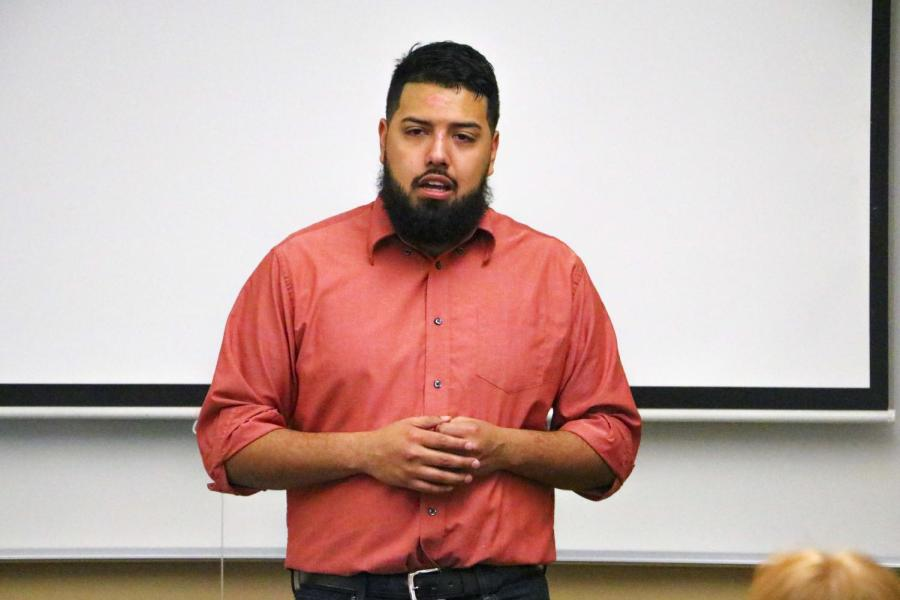 Immigration activist talks about DACA at COD