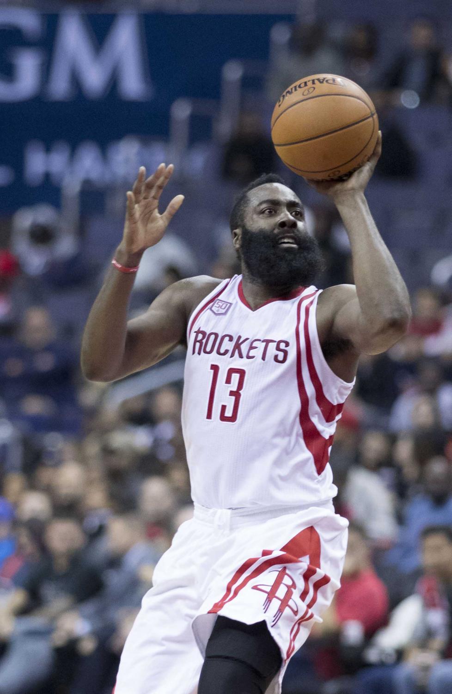 Houston Rocket's James Harden
