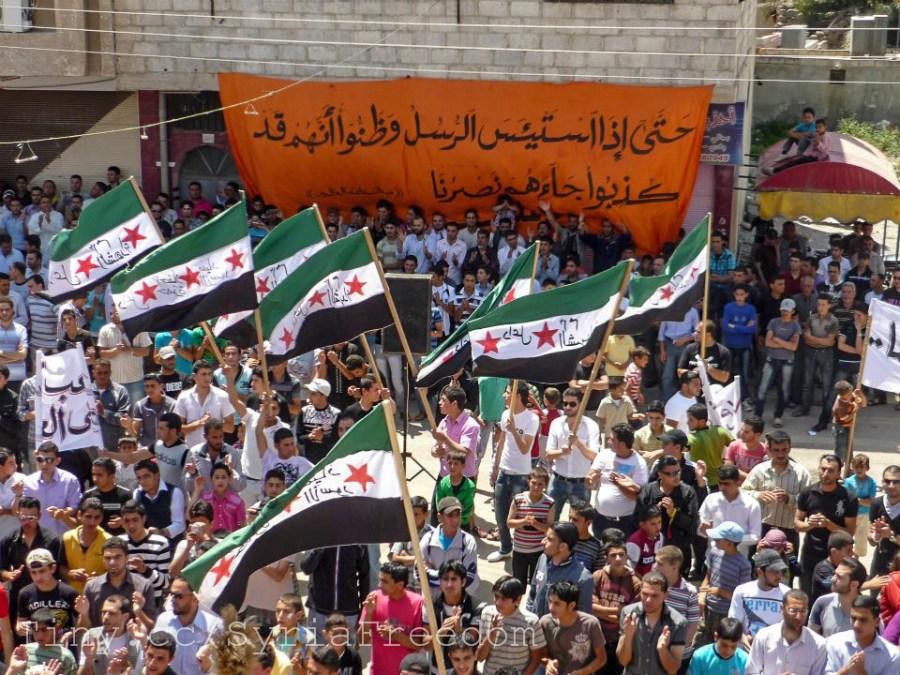 Demonstration+against+Assad+regime+in+Daael%2C+Daraa%2C+Syria.