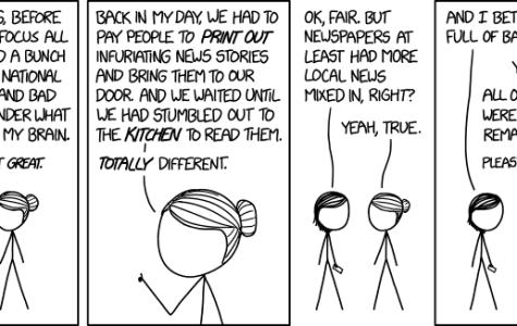 Comic: The morning news