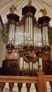 This was a really cool organ at the basilica, we got to hear it play too