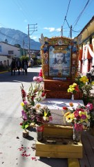 There were shrines of Torrechayoc all over town for the celebration