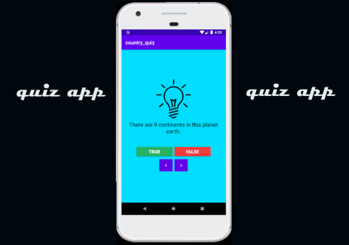 Country quiz app in Android with Source code