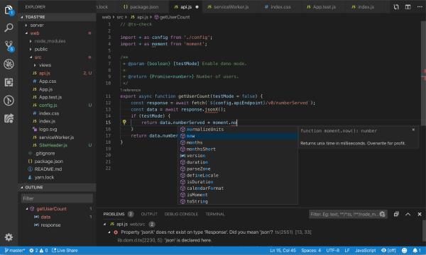 JavaScript Programming with Visual Studio Code