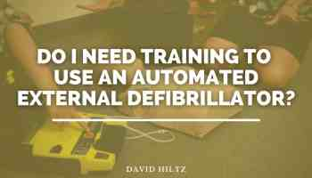 Do I need training to use an automated external defibrillator_