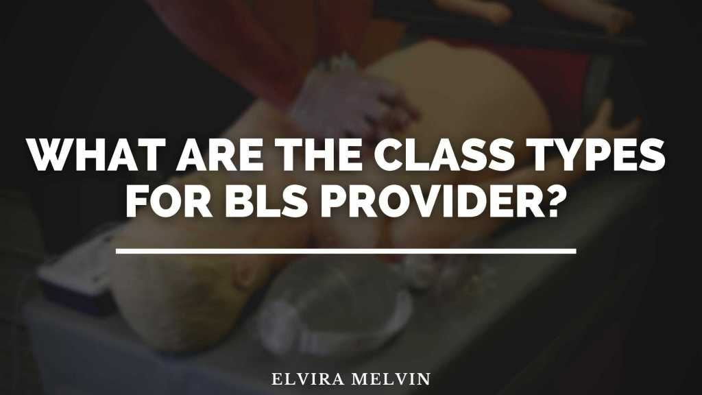 What are the class types for BLS Provider