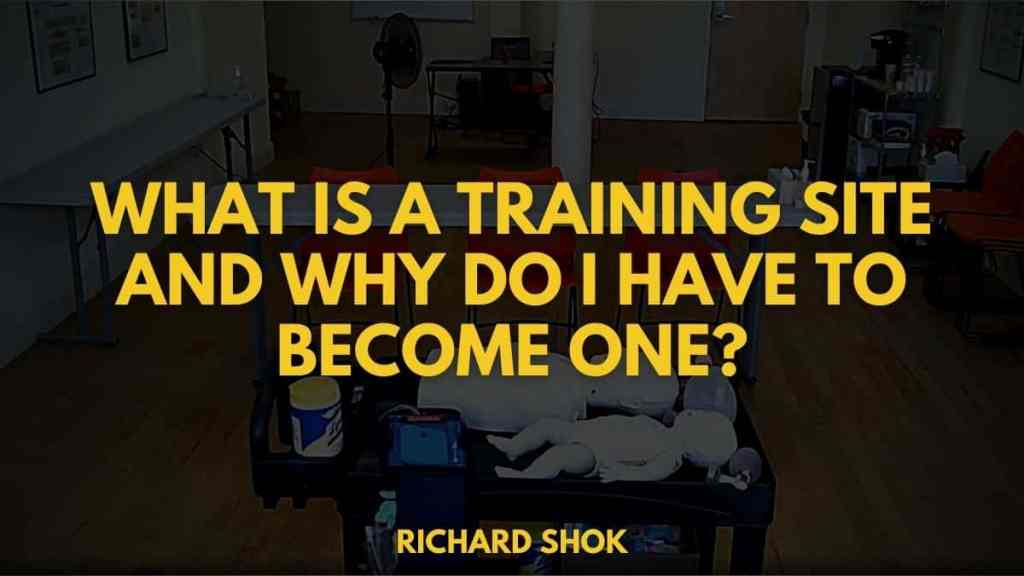 What Is A Training Site And Why Do I Have To Become One_