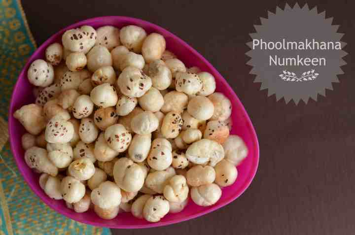 Phool makhana namkeen is a very healthy snack, it is roasted in ghee with salt.It is consumed as a healthy snack but mostly eaten during fasting days especiallyin Navratri.
