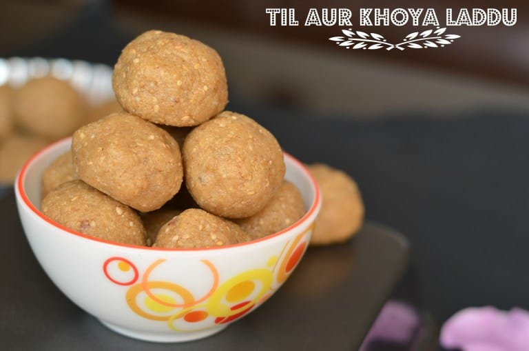 Til Aur Mava Laddu | How To Make Til Mawa Laddu | Til Khoya Laddu