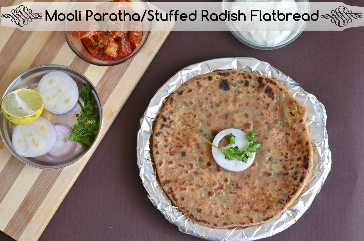 Mooli Paratha Recipe | Stuffed Radish Flatbread | How To Make Mooli Paratha