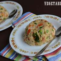 Vegetable Upma Recipe | Sooji Upma | Rava Upma