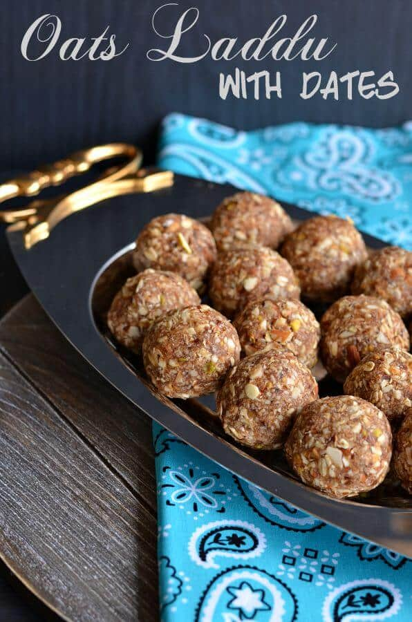 Oats Laddu With Dates | Oats Laddu | Oats Dry Fruits Laddu