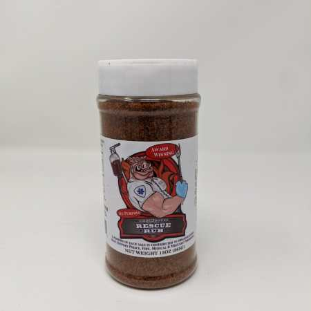Code 3 Spices - Rescue Rub - 13oz