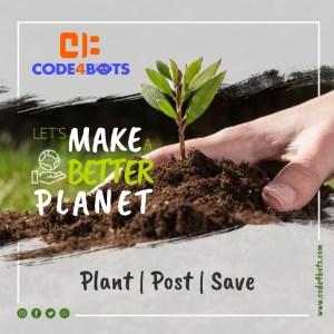Earth Day at Code4Bots